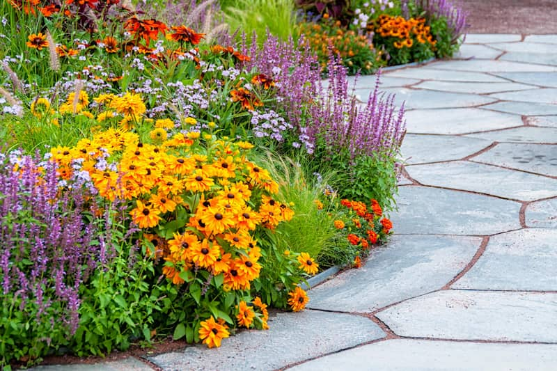flower and shrub landscaping in gloucester county