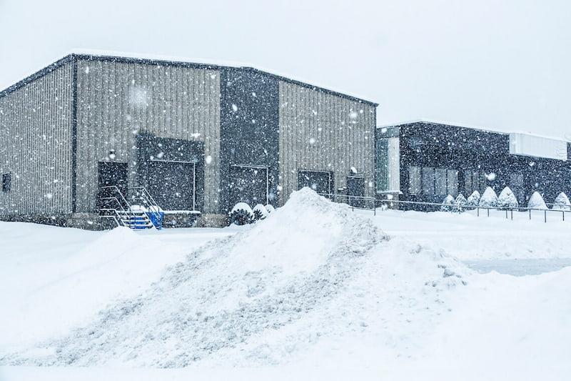 snow removing service